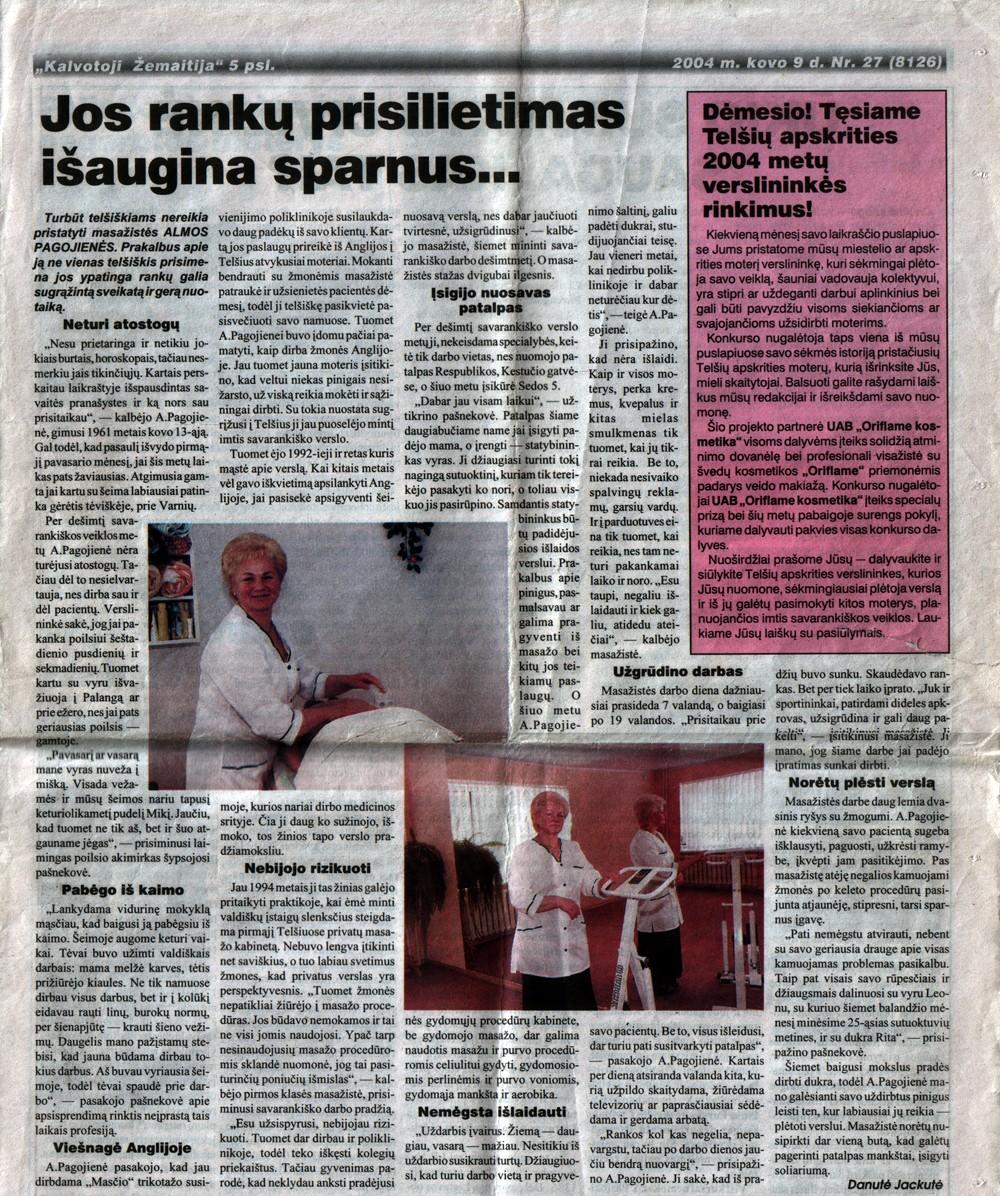 "2004.03.09 ""Kalvotoji žemaitija"""